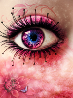Eye in Pink by Vilyane