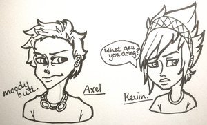 Axel and Kevin by CaptainJackdaw