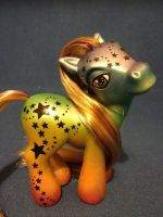 Galaxia-Rainbow My Little Pony Custom by MissGriss