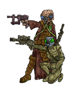 Zuckuss and 4-LOM by janimutikainen