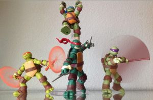 TMNT 2012 - Attack! by 0PT1C5