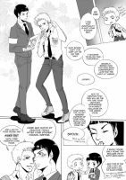 ST: High School AU one pager by CanneDeBonbon
