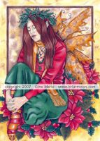 Yuletime Fairy by Gina-Marie