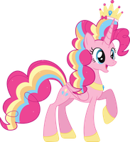 Princess Pinkie Pie by AuburnBorbon