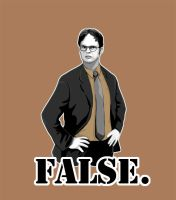 Dwight Schrute Tee by Selladorra