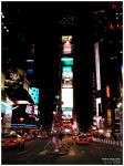 Times Square by Lu-Xin