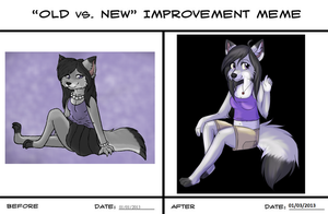 Adriana Improvement Meme by JodieKatt