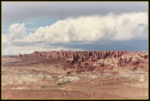 Views from Arches NP part 1 by Shadow848327
