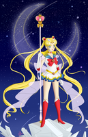 Super Sailor Moon by Horu-chan