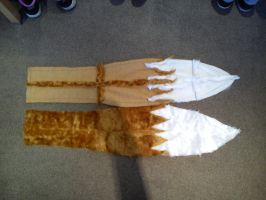 [Spice and Wolf] Holo Cosplay Tail W.I.P by Miku-Nyan02