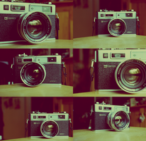 Yashica Electro 35 GSN by TrickD123