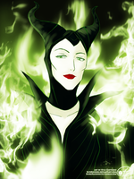 Maleficent by ElykRindon