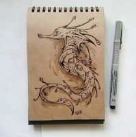Instaart - Seahorse by Candra