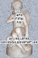 Cupid Statue PSD by FoxFireRed