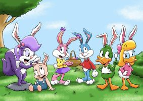 Tiny Toons Easter by ViralJP