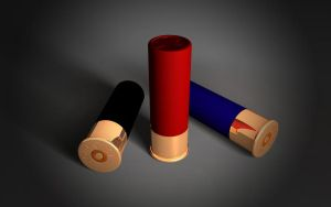12 GAUGE - Shotgun Shell by TonyVallad