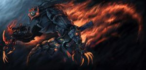 injured hell rider by no1hellangle
