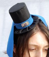 Tiny Top Hat: Konoha - Hidden Leaf Headband Naruto by TinyTopHats