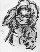 Chucky Sketch by anthonymarques