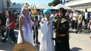 anime Friends 2015 - 19/07  Athena, Aria and Hades by aprict