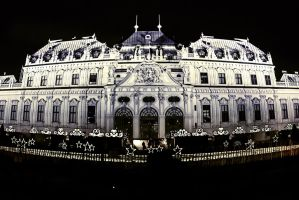 Advent at Belvedere [Vienna] by MrTaxiSock