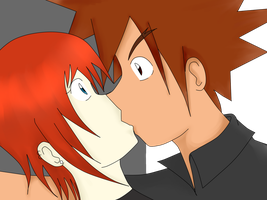 Danny x Shigeru  Accidental Kiss by TheGabithazz