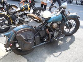 1936 Harley-Davidson EL Knucklehead II by Brooklyn47