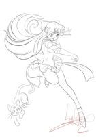 20121010 - Sailor Venus - Inks by nekoiichi