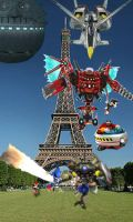 Sonic in France by DeverexDrawer