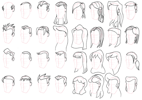 Hairstyles by RAWilco