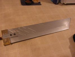 Buster Sword from Crisis Core by NocturneOblivion