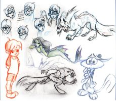 Some of my really early drawings_005 by dashingrainbow2012