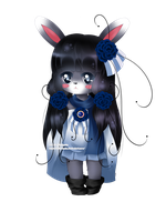 :CdR: Bunny Villager Sephia - Render ~ by Chierue