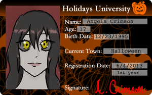 Crimson HU ID card by TheShadowsStrike