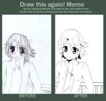Draw this Again Meme!! :D by Aquarika