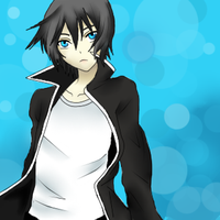 Black Rock Shooter (male) by XxWidaXx