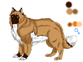 character competition: Leonberger by Thecopperbeast