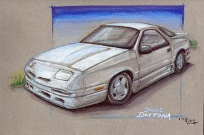 Dodge Daytona by supercrazzy