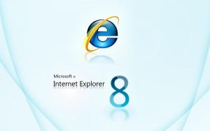 Internet Explorer 8 wallpaper by darpan-aero