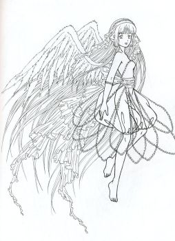 Chii with Wings by shadowhearts