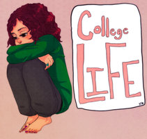 College lafee by Masqueraderrr