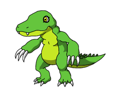 Gatormon by BatterymanAAA