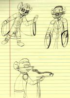 GMD: Jacob Johnson Doodles by MouseAvenger