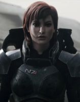 Mass Effect Fan Cast B: Natalie Portman as FemShep by ImWithStoopid13