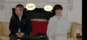 Johnlock. by MellifluousSilence