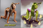 Sensational She-Hulk Jen Richey By Ulics by zenx007
