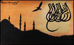 Calligraphy by RabylKhan