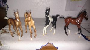 Breyer Classic Foals by LittleKunai
