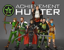 Achievement Hunters by Xinjay