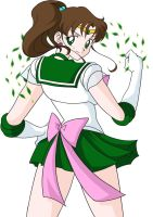 Pin-up, Sailor Jupiter by KrisRix